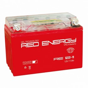 Аккумулятор 12V11A RED ENERGY RE1211 (151х86х112)
